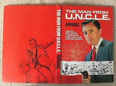 The First Man From Uncle  Annual 1967 Very Good Condition