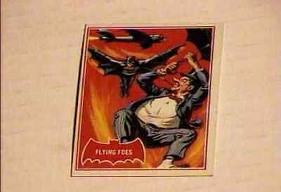 Batman  Trading Card #31  Red Bat Very Fine Topps 1966