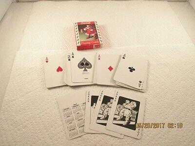 Coca Cola 1993 Santa Claus Playing Card Deck