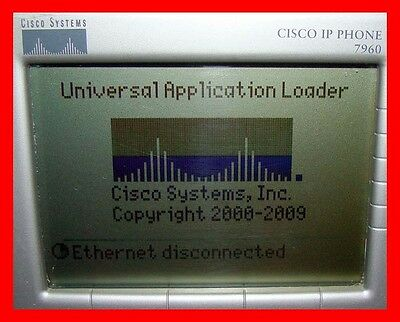 LOT of 8 Cisco Unified IP Office Business Phone 7960G Telephone Handset CP-7960G