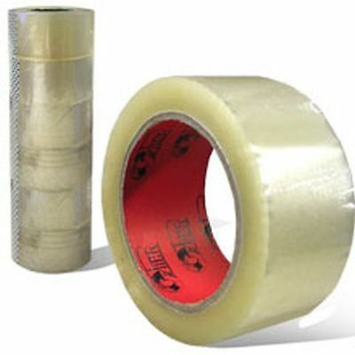 """48 Rolls Tape 2"""" x 110 yards Clear Carton Sealing Shipping Mailing Packing Case"""
