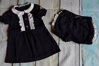 Baby Girls Moncler Designer Summer Clothes Dress & Shorts 12-18 Months Vgc