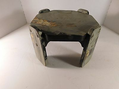 Antique Primitive Shabby Chic 6 Sided Wooden Stool