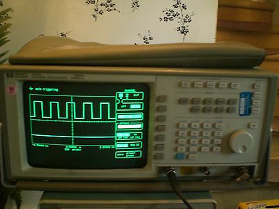 Hewlitt Packard 54502A 400MHz Digitizing Oscilloscope  2 Channel