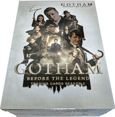 Gotham Season 2 Complete 72 Card Silver Foil Variant Parallel Base Set