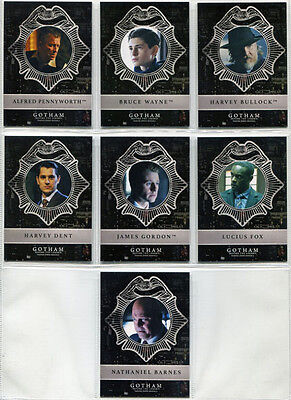 Gotham Season 2 New Day Dark Knights Complete 7 Card Chase Set ND1 to ND7