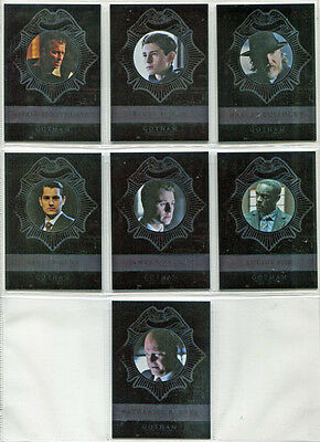Gotham Season 2 New Day Dark Knights Silver Foil 7 Card Chase Set ND1 to ND7