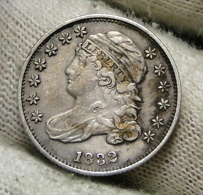 1832 Capped Bust Dime 10 Cents - Nice Coin, Free Shipping  (5982)