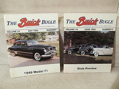 Lot of 2 1984 The Buick Bugle Magazines Nos. 1 and 2