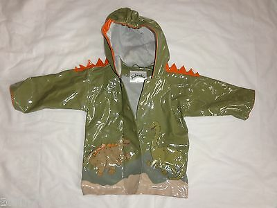 KIDORABLE GREEN BOYS  Dinosaur  Rain Coat  SIZE 2T PERFECT