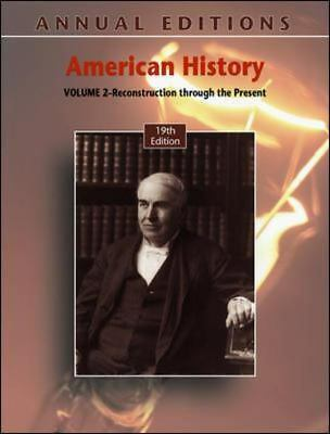 American History, Volume 2 : Reconstruction Through the Present by Robert Maddo…