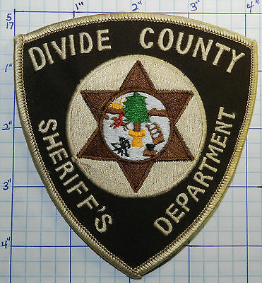 North Dakota, Divide County Sheriff's Dept Patch
