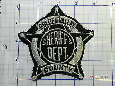 North Dakota, Golden Valley County Sheriff's Dept Patch