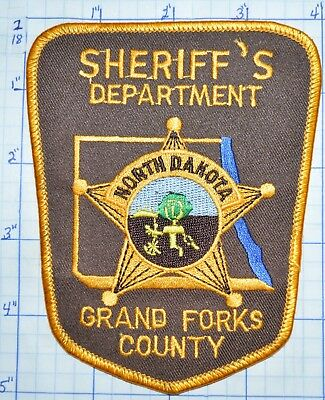 North Dakota, Grand Forks County Sheriff's Dept Patch