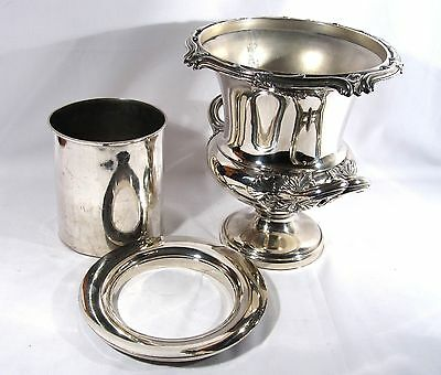 Antique Georgian OLD SHEFFIELD Silver plate Wine COOLER Champagne BUCKET c. 1820