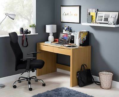 Newham Wood Effect Desk With 2 Drawers