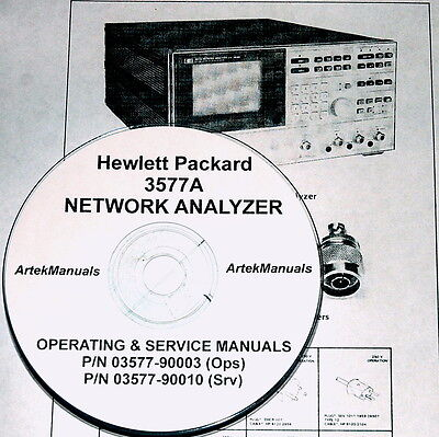 Hewlett Packard Operating & Service Manual for the 3577A Network Analyzer (2vol)