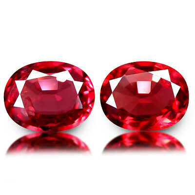 0.65Ct Gergeous Transparent Lustrous AAAA~Grade Reddish Pink Spinel Natural Gems