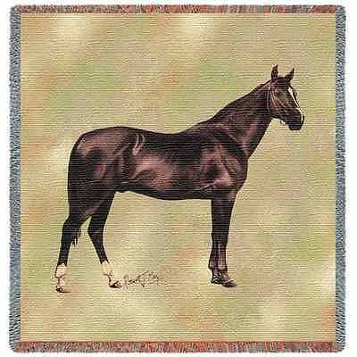 Lap Square Blanket - Anglo Arabian by Robert May 2372