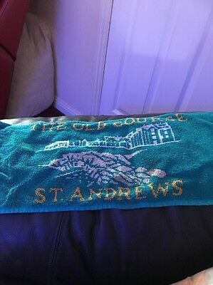 Old Course St Andrews Golf Towel