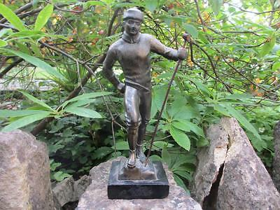 Spelter Figurine of Mountaineer circa 1910 PHN01607