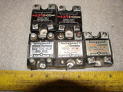 5 Solid State Relays