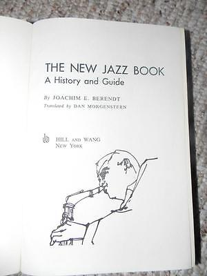 1st American Edition The New Jazz Book 1962 Joachim E Berendt
