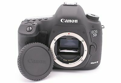 Canon EOS 5D Mark III 22.3MP Digital SLR Camera - (Body Only) Shutter Count: 120