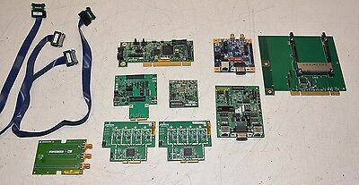 HUGE LOT Broadcom Development Boards Cables Evaluation BCM9PCI2SDI0AD BCM9342XAD