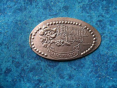 DISNEY MAGIC KINGDOM FRONTIER LAND Elongated Penny Pressed Smashed 28