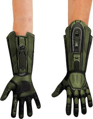 Licensed Halo Master Chief Soldier Deluxe Adult Men Costume Accessory Gloves