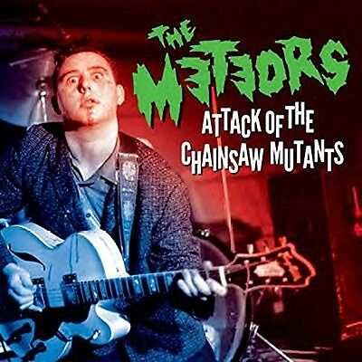 Attack Of The Chainsaw Mutants - 2 DISC SET - Meteors (2017, CD New)