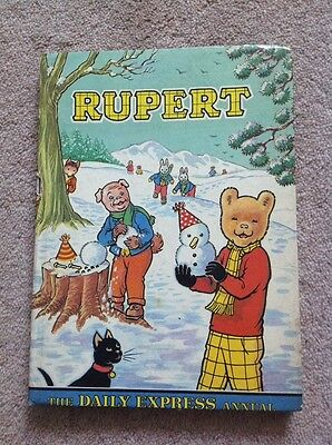 Rupert Daily Express Annual 1974 Very Good Condition