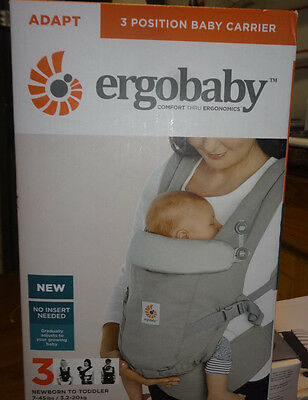 Ergobaby 3 Position Baby Carrier (Adapt Pearl Grey) #bcapeagry New