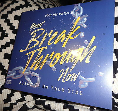 """3 Cd Teaching Set By Joseph Prince -""""your Breakthrough, Now!"""" Jesus On Your Side"""