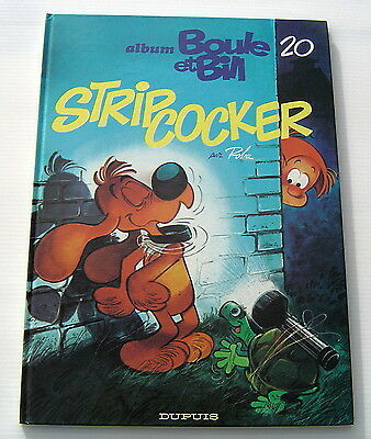 Boule Et Bill . 20 . Strip Cocker . Roba . Bd Eo Dupuis
