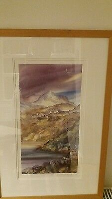 Gillian mcdonald Limited Edition Print Light On The Loch ll Painting Scotland