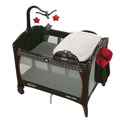 Graco Pack n Play Playard with Portable Lounger & Changer - Marco