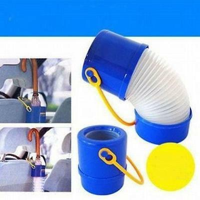 Folding Auto Plastic Bucket Telescopic Umbrella Tube Holder Car Hanger Tool Q