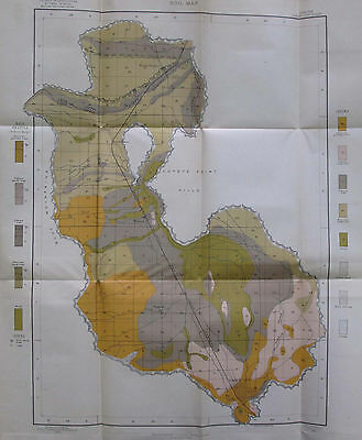 4 Soil Survey Alkali Maps Baker City Oregon Haines Wingville North Powder 1903