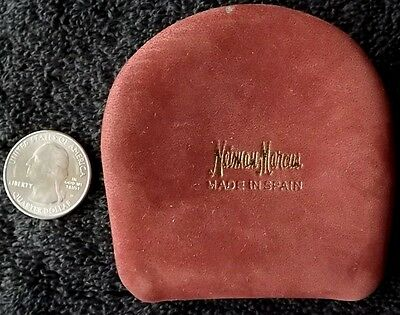 VINTAGE NEIMAN-MARCUS CHANGE PURSE MADE IN SPAIN Retro Department Store