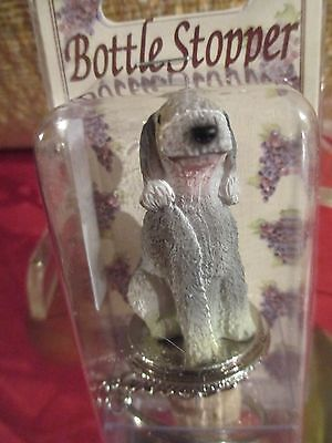 Bedlington Terrier   Dog Wine Stopper