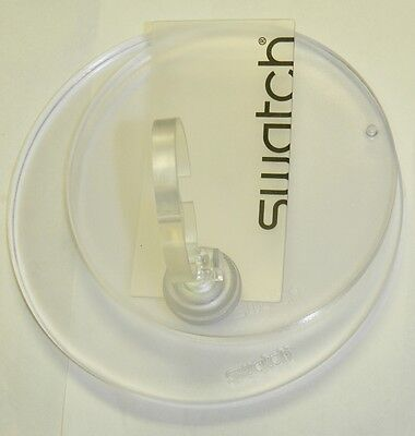 Swatch COLLECTION DISPLAY with base logo and watch holder