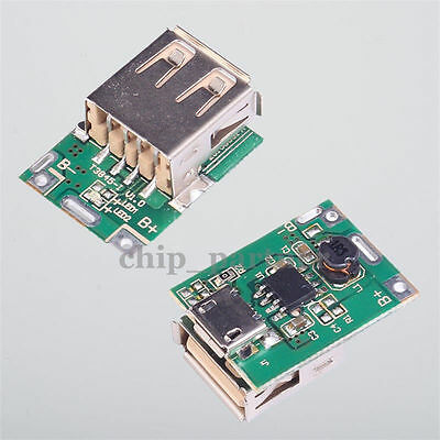 Step-Up Module Boost Converter 5V Lithium Battery Charging Protection Module