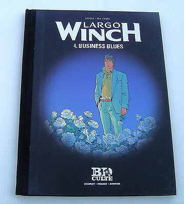 LARGO WINCH (LE FIGARO) . 4 . Business blues . FRANCQ , VAN HAMME . BD DUPUIS