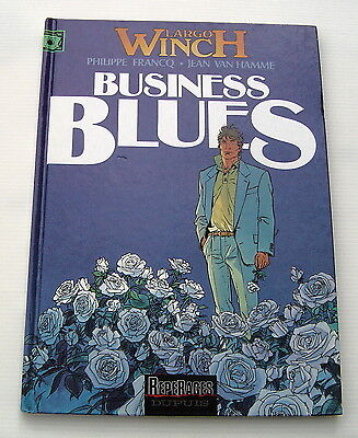 Largo Winch .  4 . Business Blues - Bd Eo - Francq/van Hamme