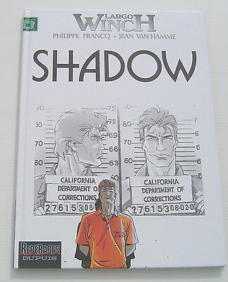 Largo Winch . 12 . Shadow . Francq , Van Hamme . Bd Eo