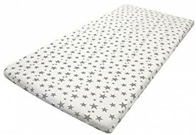 Cuddles Collection Single Next To Me Crib Fit Sheet (stars)