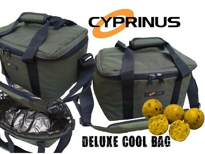 Cyprinus™ Deluxe Carp Fishing Insulated Tackle Bait Cool Bag Carryall Boilie