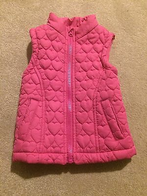 Girls Young Dimensions Pink Body Warmer 18-24 Months